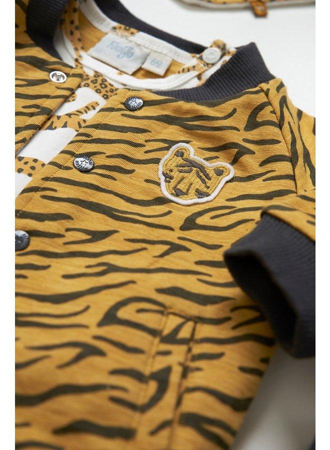 Feetje - T-shirt AOP Offwhite - Go Wild