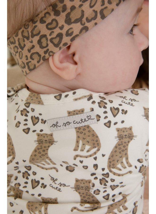 Feetje - Longsleeve AOP Offwhite - Panther Cutie