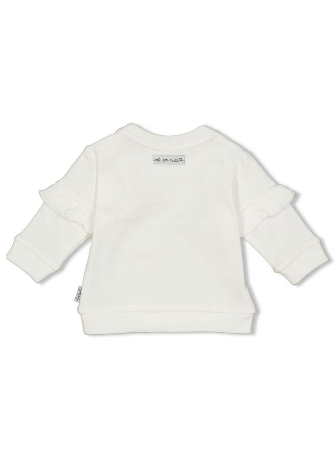 Feetje - Sweater Offwhite - Panther Cutie
