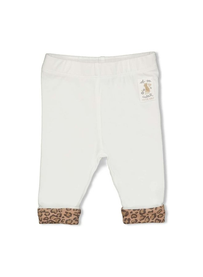Feetje - Legging Offwhite - Panther Cutie