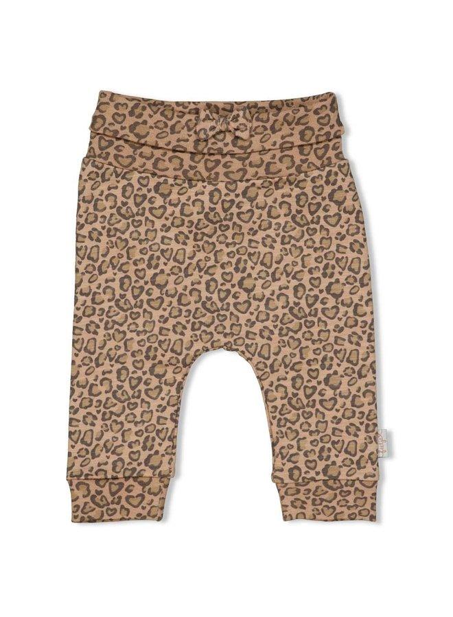 Feetje - Broek AOP Zand - Panther Cutie