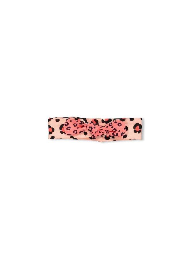 Feetje - Haarband Roze - Leopard Love