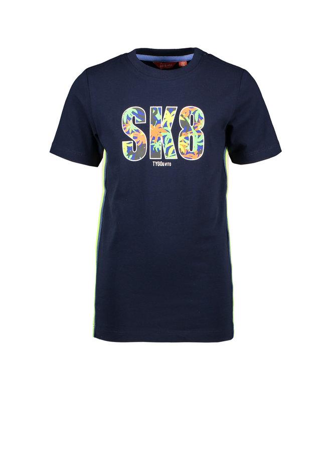 Tygo & vito - Shirt SK8 - Navy