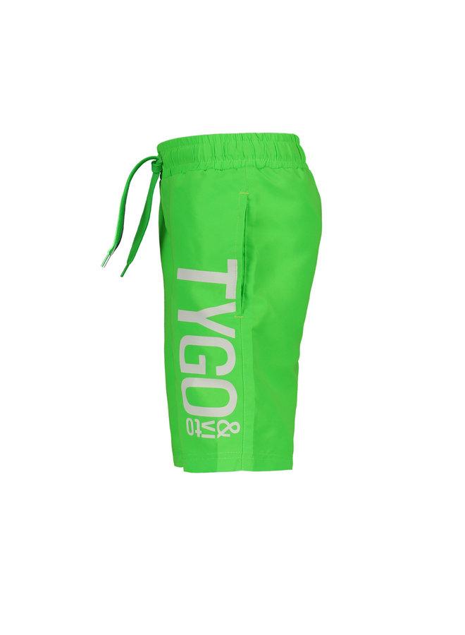 Tygo & vito - Neon Boardshort - Green Gecko