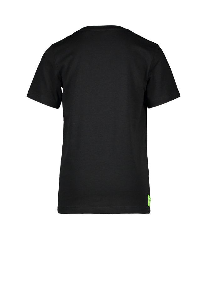 Tygo & vito - Shirt Crocodile - Black