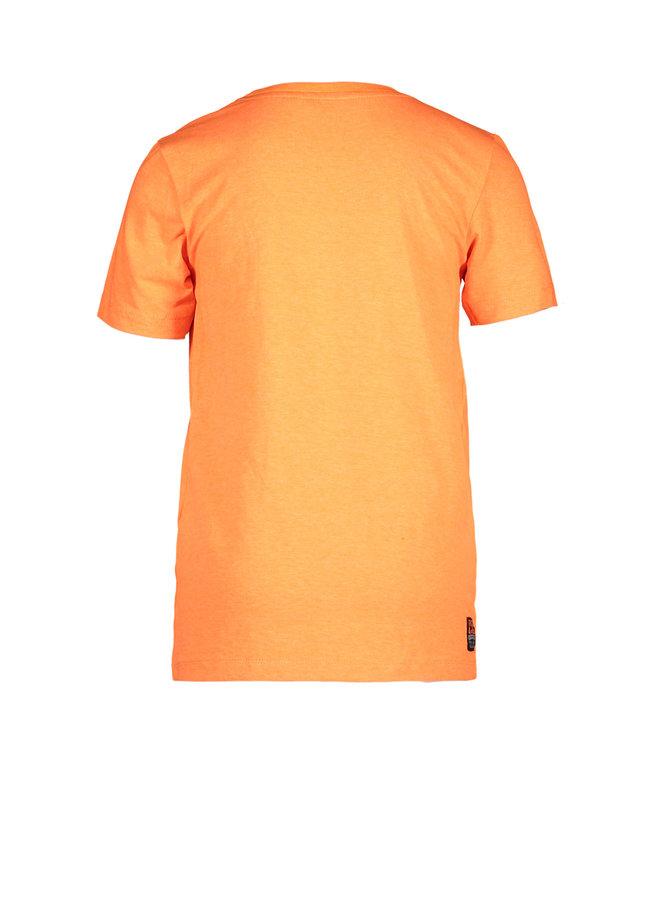 Tygo & vito - Neon Shirt Surf Club - Shocking Orange