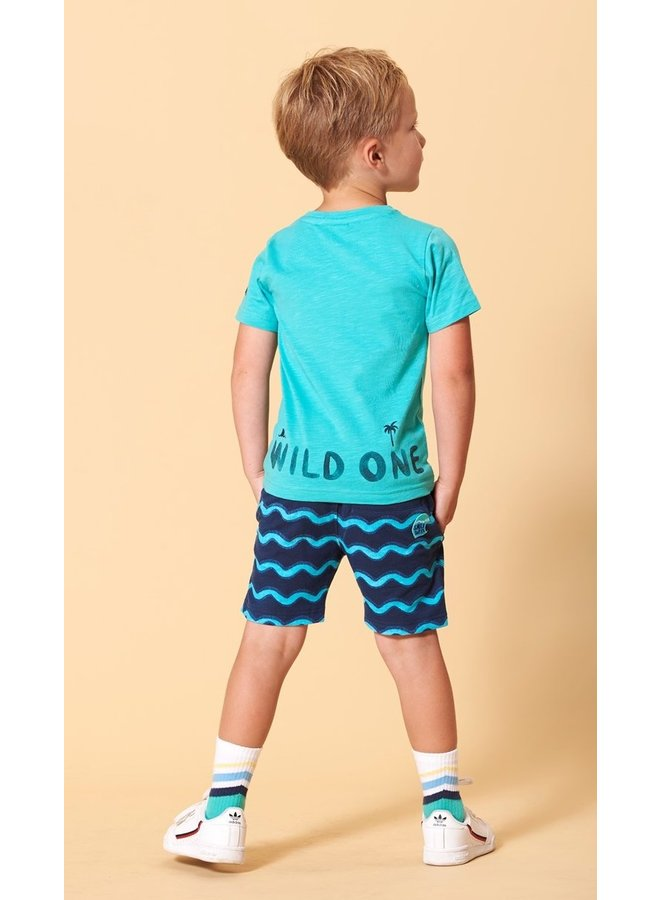 Sturdy - T-shirt Wild One Mint - Smile & Wave
