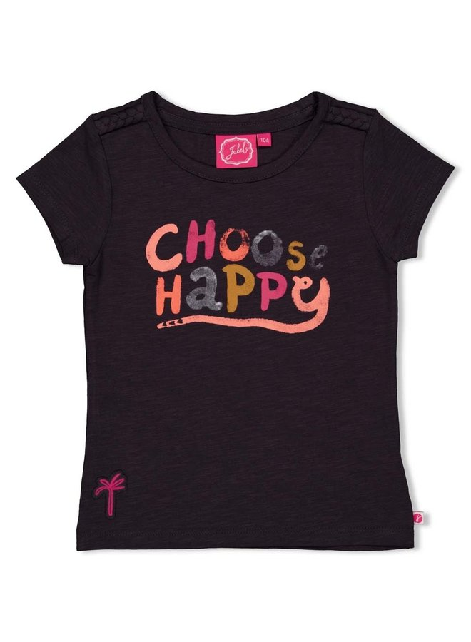 Jubel - T-shirt Antraciet - Whoopsie Daisy