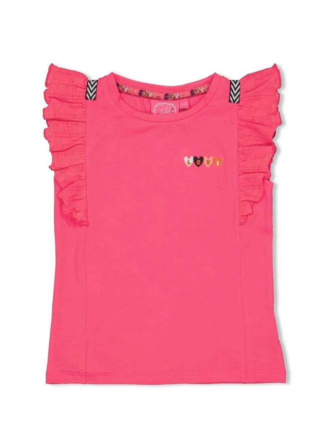Jubel - T-shirt Fuchsia - Whoopsie Daisy