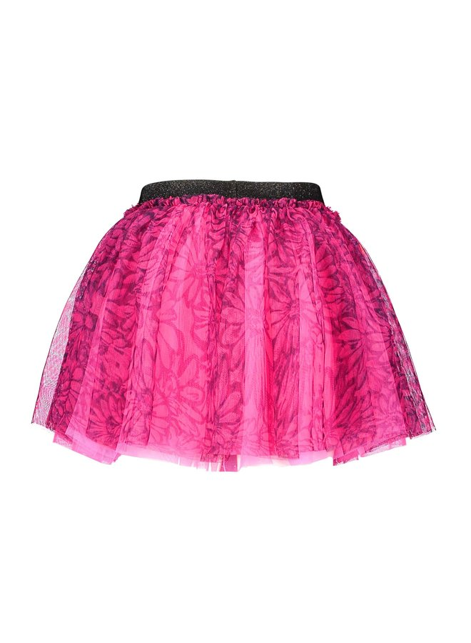 B.Nosy - Sunny AO Wide Netting Skirt - Knock Out Pink