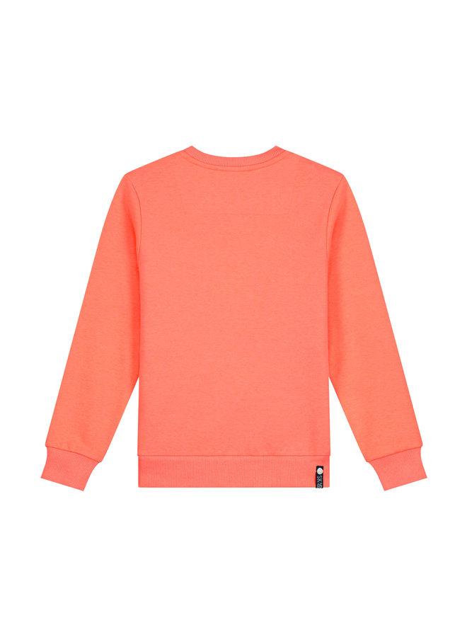 SKURK - Sweater Sverre - Coral