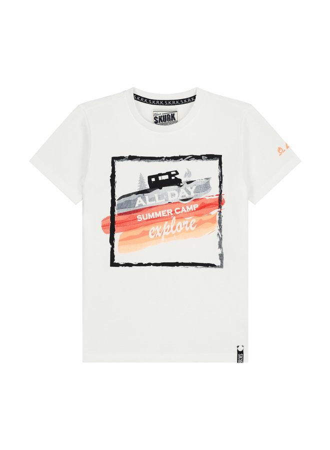 SKURK - Shirt Thies - White