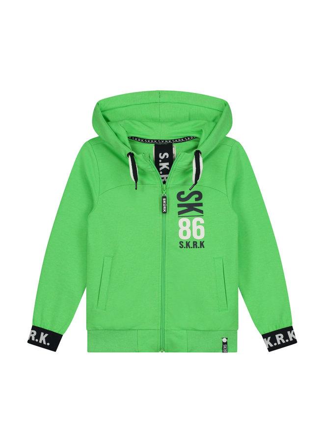SKURK - Vest Verner - Neon Green