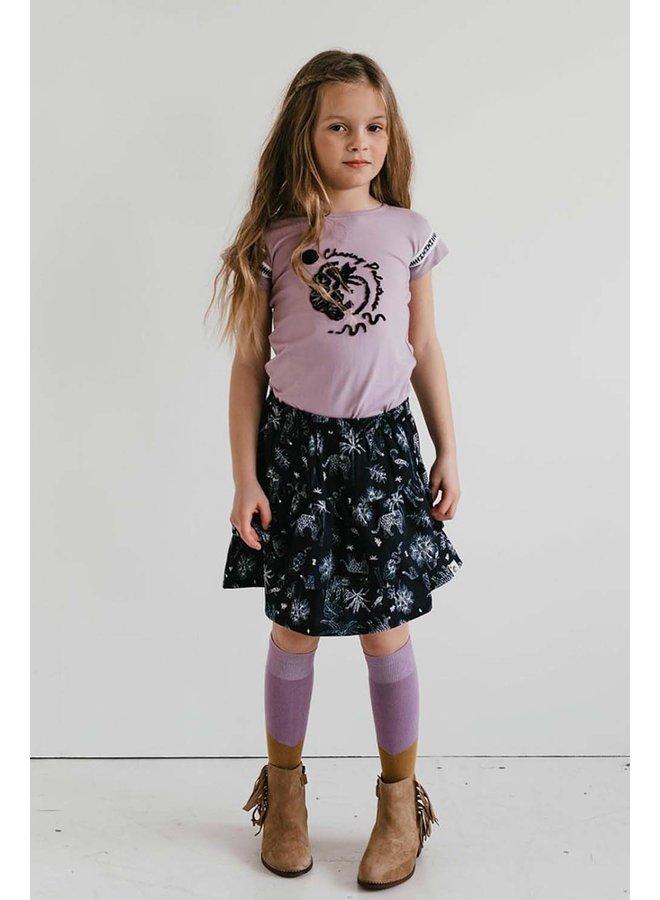 Topitm - Camille Socks - Sand/Lilac