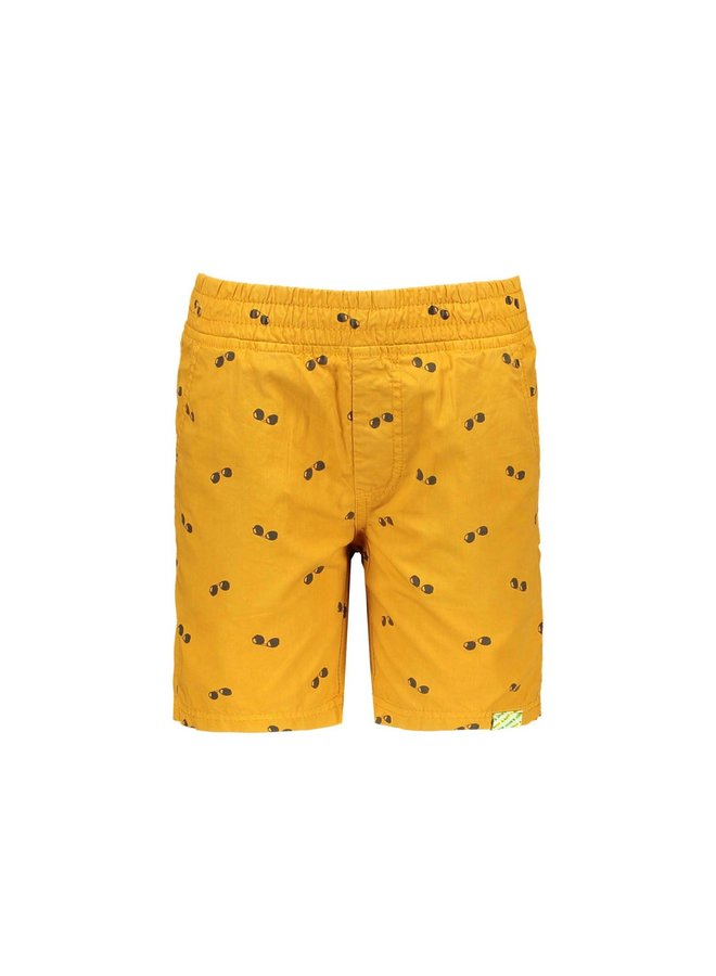 B.Nosy - AO Poplin Shorts - Mustard