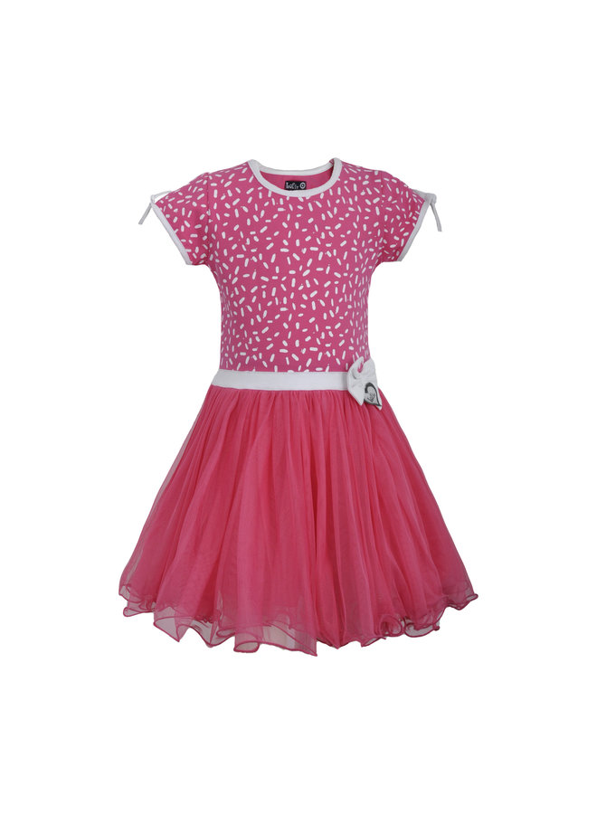 LoFff - Dancing Dress Sprinkle - Pink Fuchsia