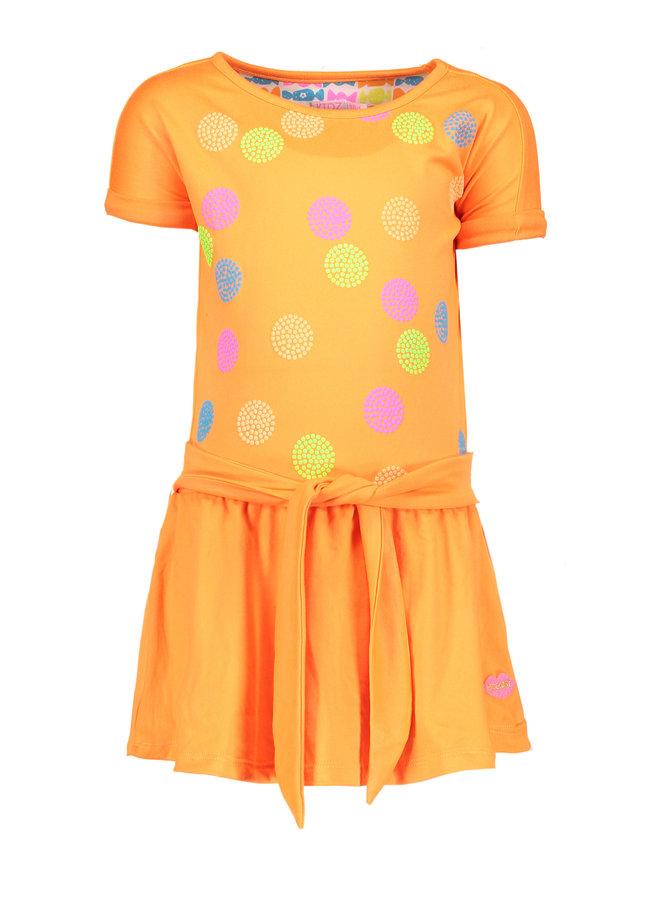 Dress Dots - Neon Orange