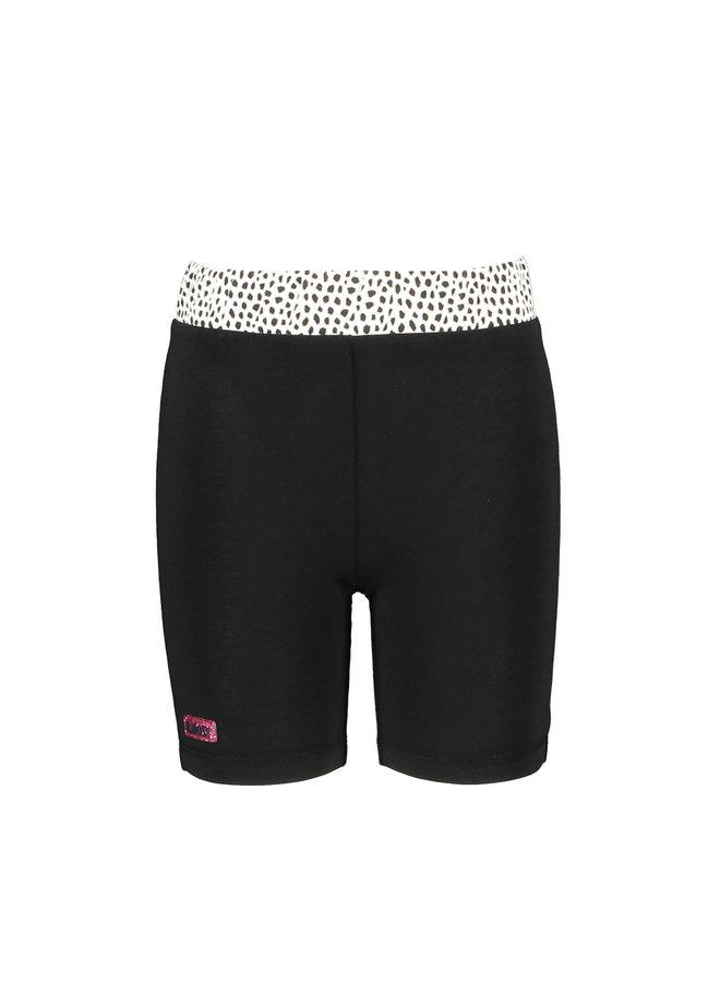 B.Nosy - Short AOP Pants - Black