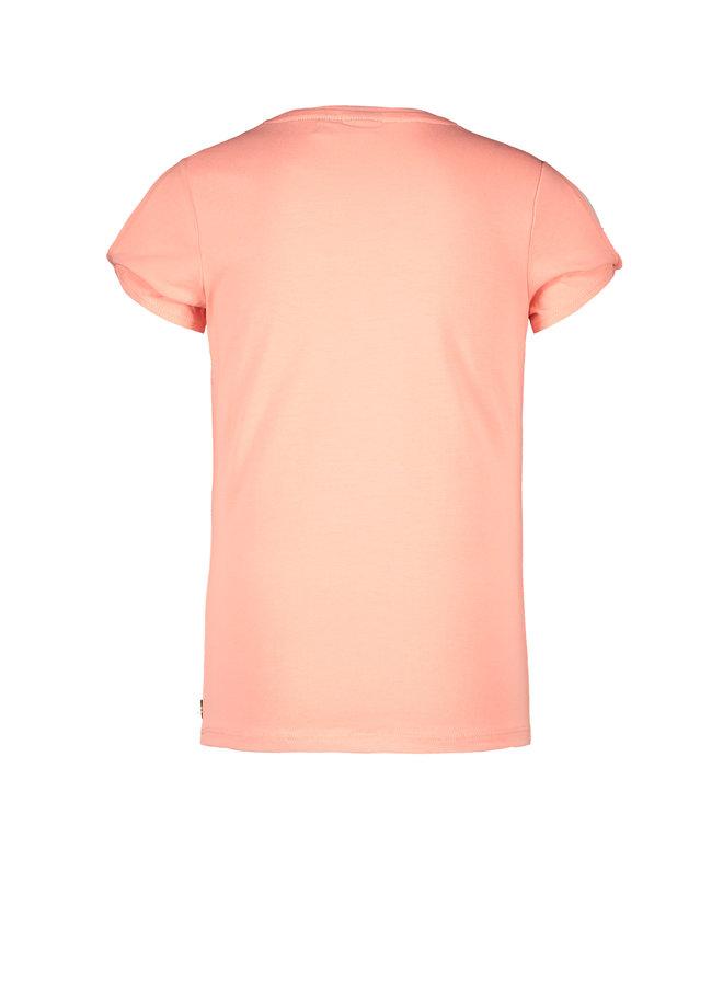 Like Flo - Shirt Open Shoulder - Bubblegum