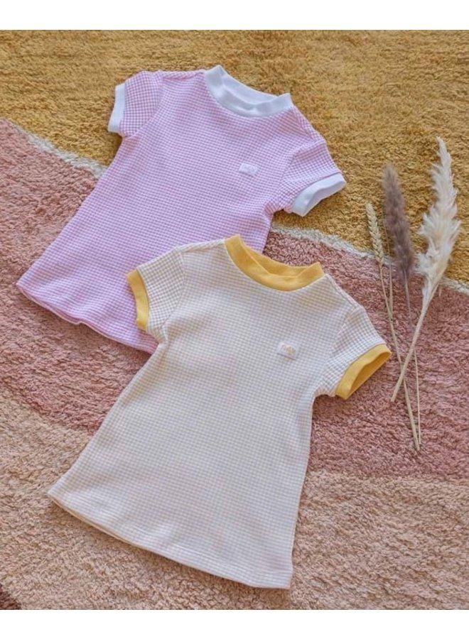 Feetje - Nachthemd Wafel - Okergeel