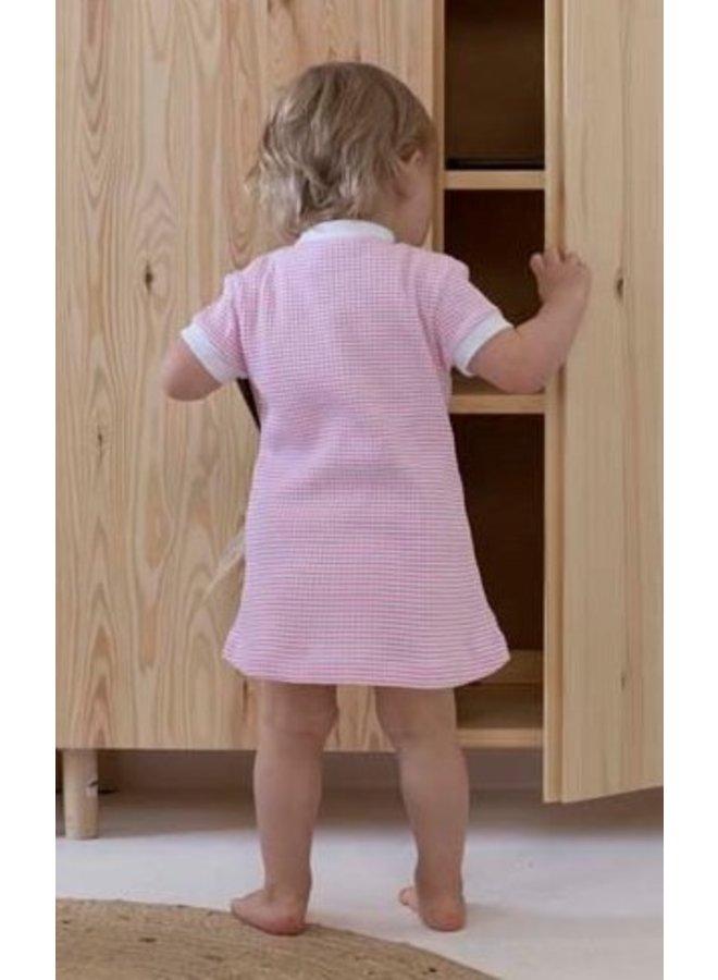 Feetje - Baby Nachthemd Wafel - Roze