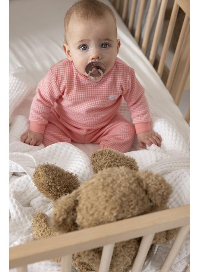 Feetje - Baby Pyjama Wafel - Roze Special