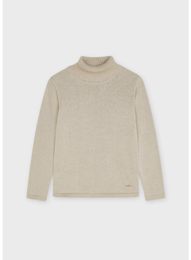Mayoral - Basic Knitting Turtleneck - H. Cookie/Gold