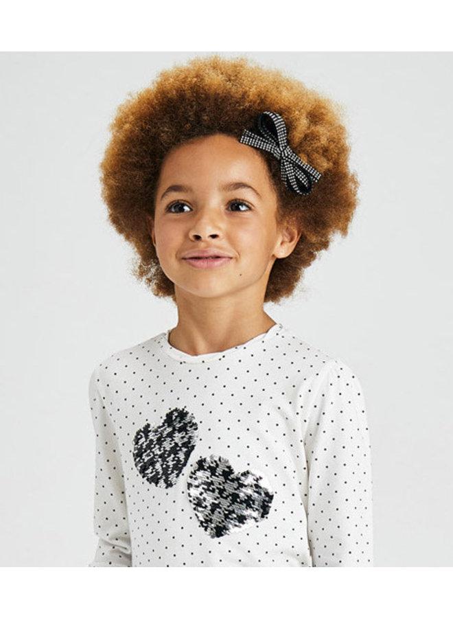 Mayoral - Longsleeve Printed Shirt - Natur-blac