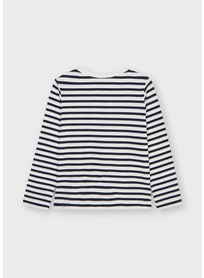 Mayoral - Longsleeve Stripes Shirt - Navy