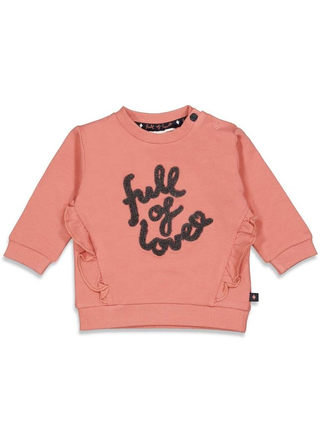 Feetje - Sweater Terra Pink - Full Of Love