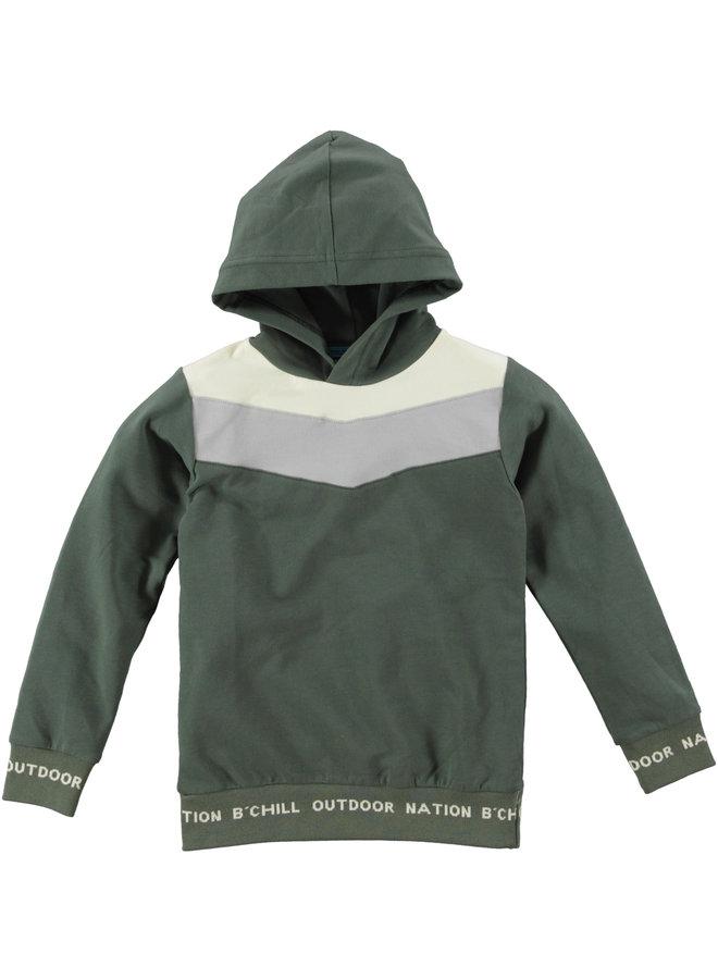 B'Chill - Hoodie Giel - Green