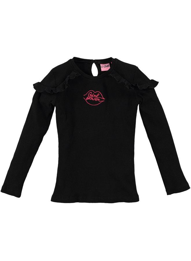 O'Chill - Shirt Isabeau - Black