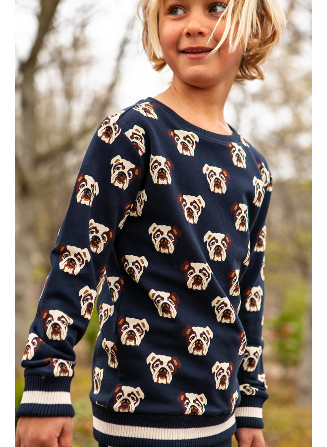 B'Chill - Sweater Pim - Navy