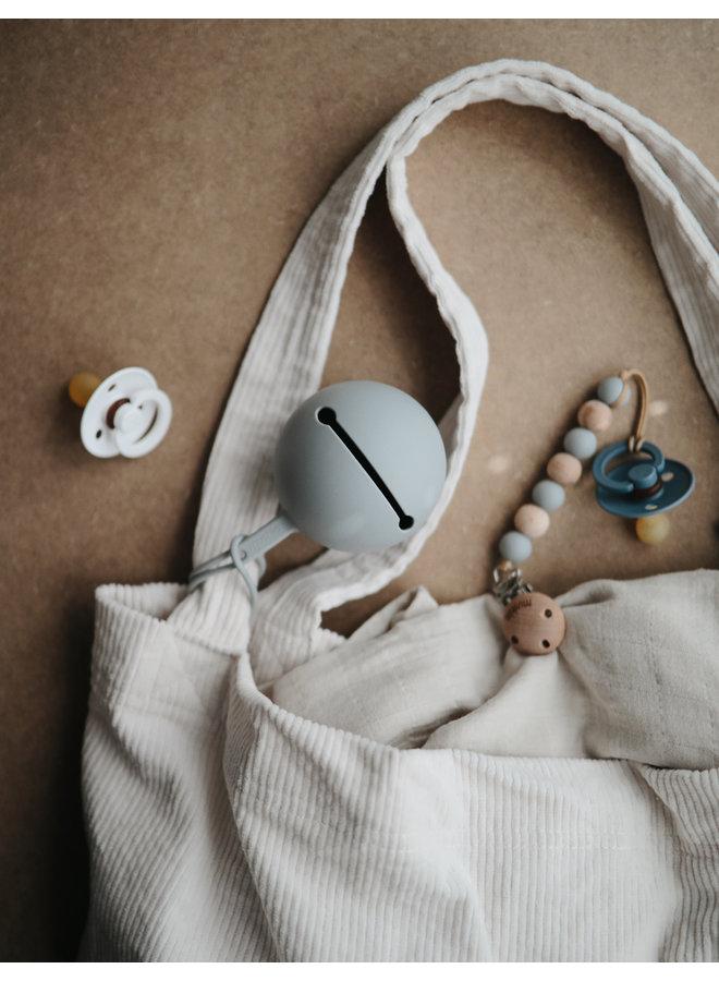 Mushie - Bibs Silicone Pacifier Case Blush