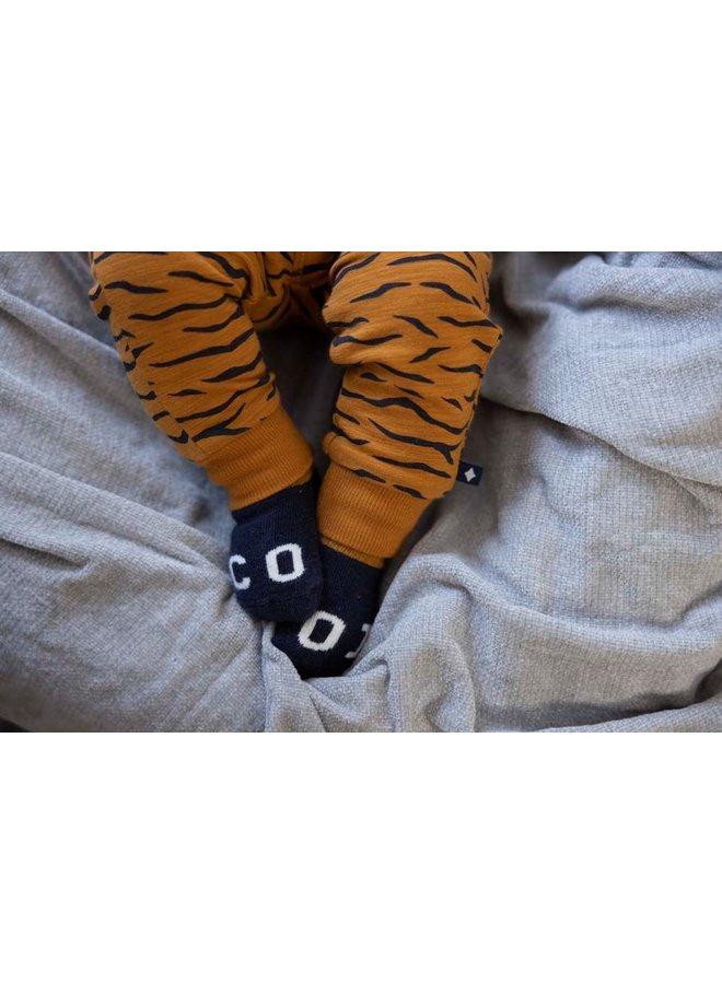 Feetje - Broek AOP Camel - King Of Cool