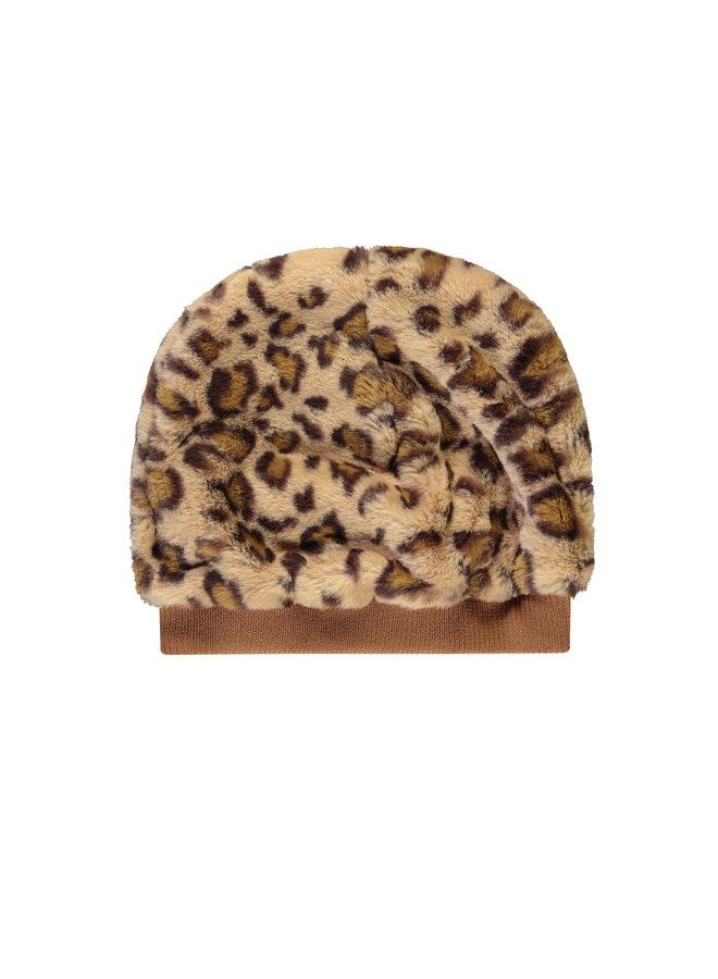 Like Flo - Fur Hat With Rib - Animal