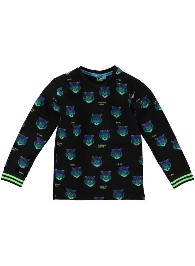 B'Chill - Shirt Santiago - Black