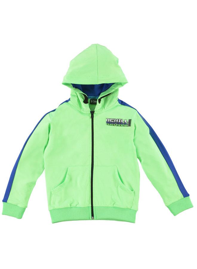B'Chill - Cardigan Yakup - Neon Green