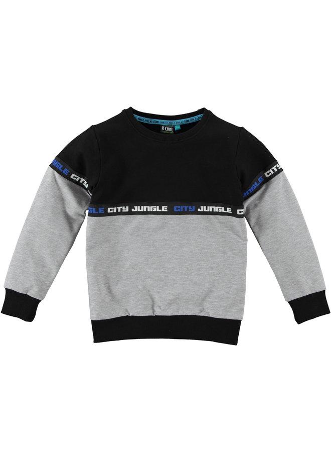 B'Chill - Sweater Zyan - Grey Melee