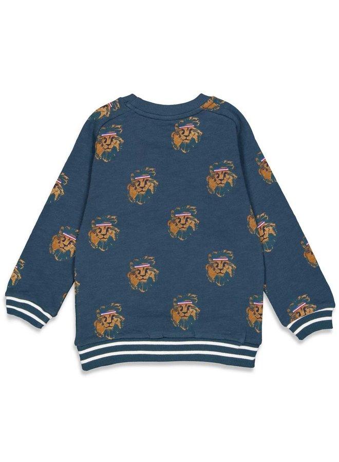 Sturdy - Sweater AOP Marine - Press And Play