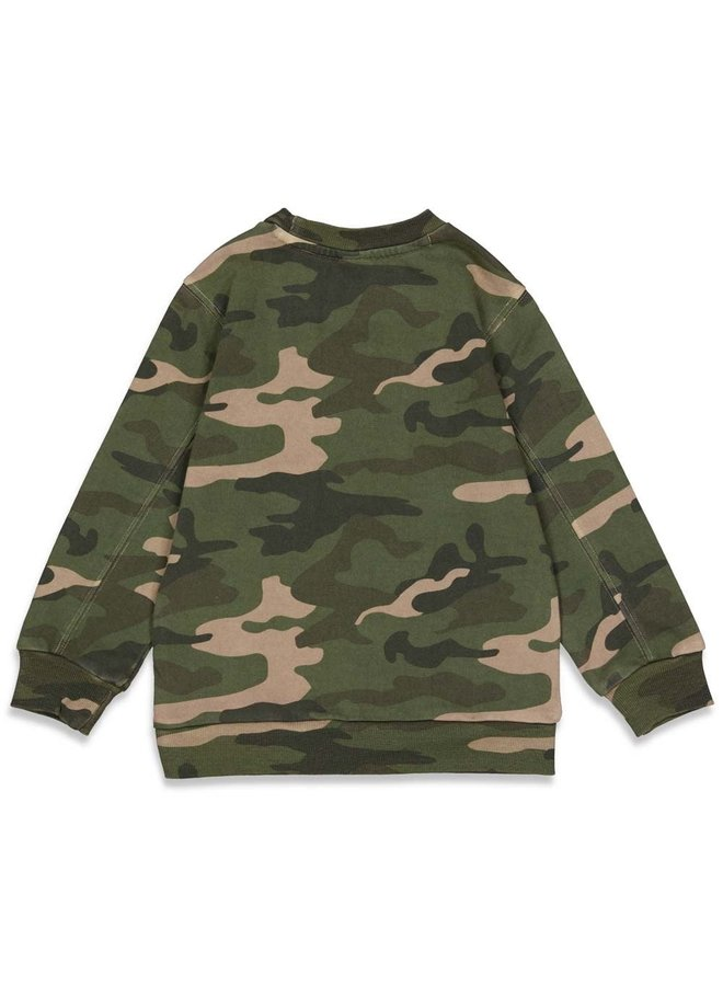 Sturdy - Sweater AOP Army - Press And Play