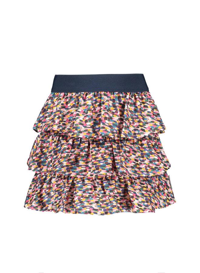 B.Nosy - 3-Layer Sporty Spickles Skirt - Sporty Spickles