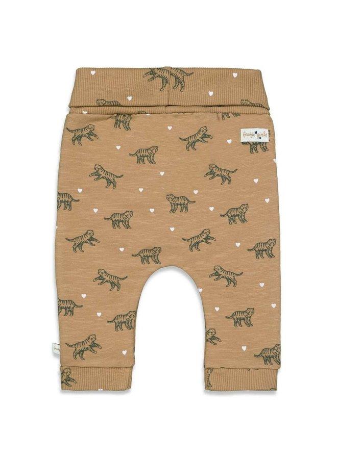 Feetje - Broek AOP Camel - Wild At Heart