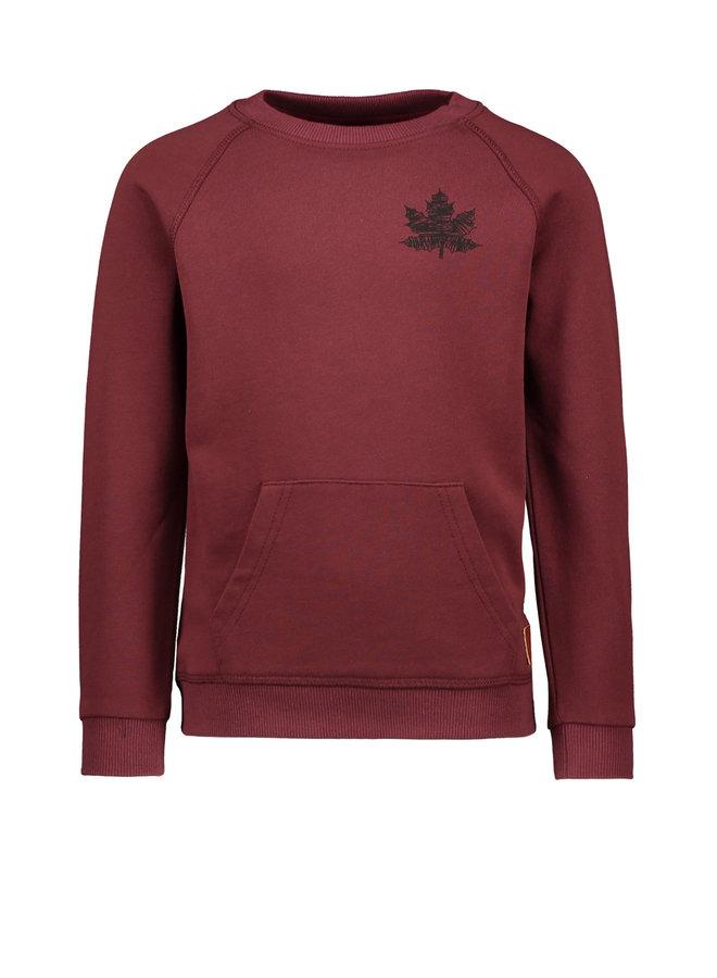Like Flo - Raglan Sweater - Bordeaux