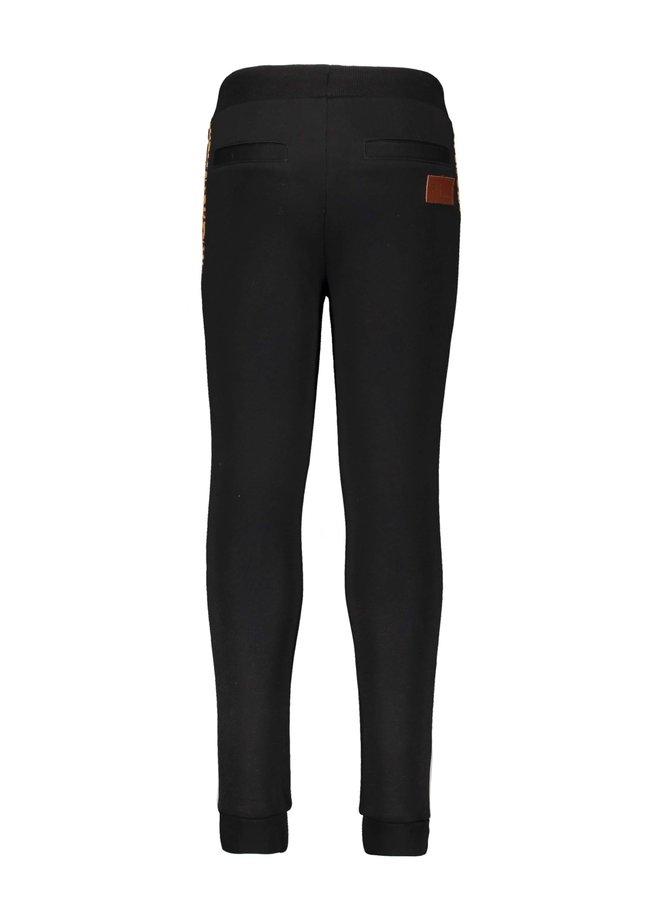 Like Flo - Sweat Pants Contrast - Black