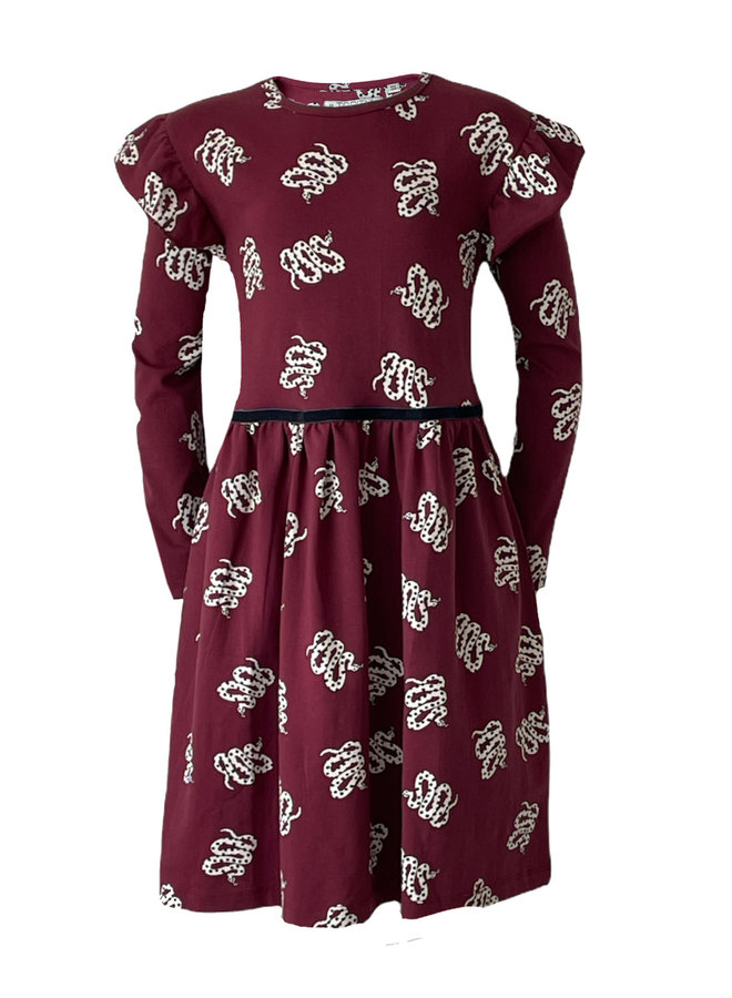Topitm - Dress Maxine - Snake Print