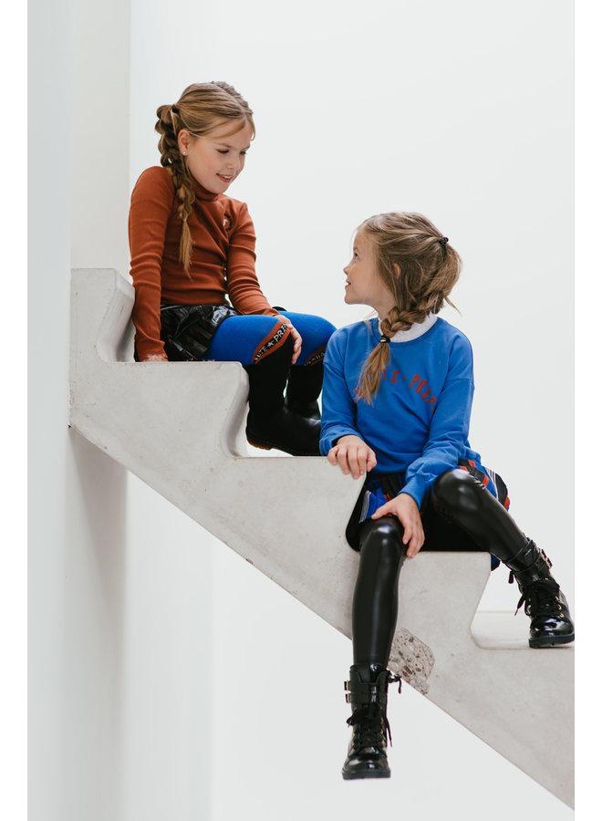 Topitm - Legging Chantal - Leather Black