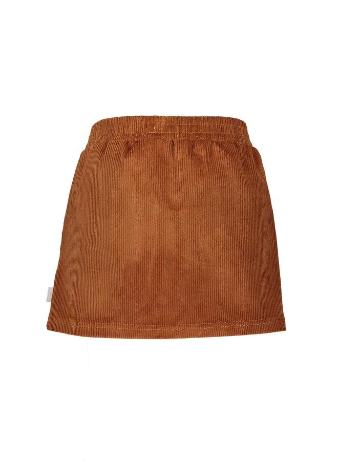 Moodstreet - Cord Skirt - Rust