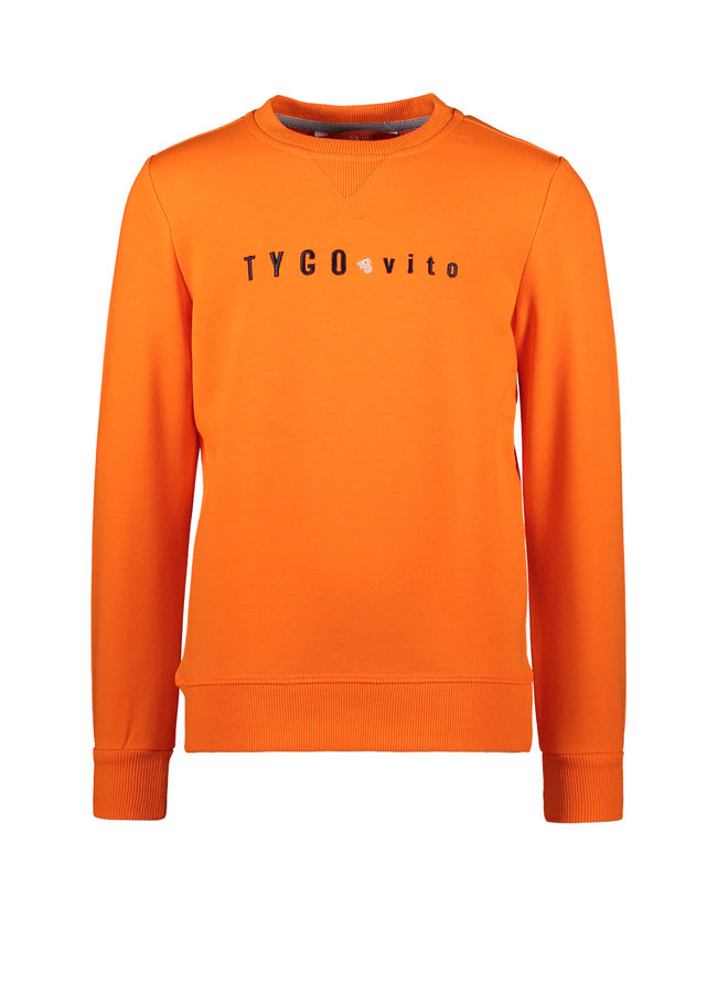 Tygo & Vito -  Sweater Tygo & Vito Embro - Shocking Orange