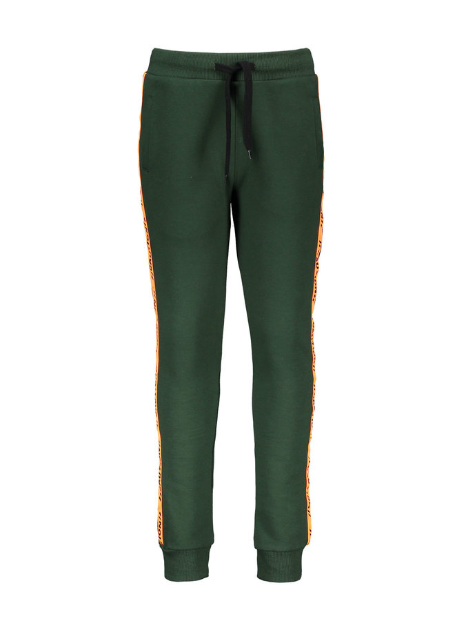 Tygo & Vito -  Jog Pants Contrast Tape - Green